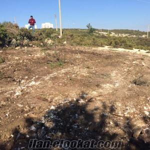 Didim Seyrantepede satılık 605 m2 imarlı arsa