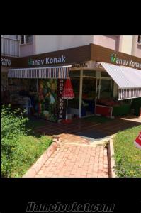 antalya konyaaltın da satılık manav dükkanı