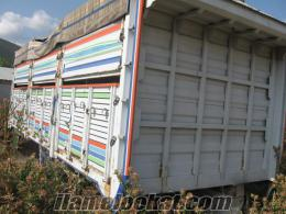 2.el açık kamyon kasası