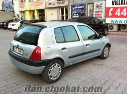 SATILIK HATCBAG OTOMATİK VİTES RENAULT CLIO 1.6i RTE GRİ(GÜMÜŞ)