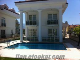 haftalık kiralık villa fethiye calis plajı