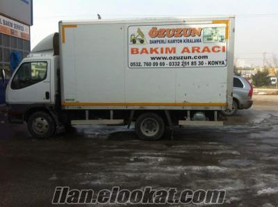 Kiralık Mercedes 3340 çift çeker damperli kamyonlar 18 adet
