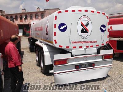 satılık su tankeri arazoz
