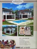 Marmaris Merkezde Sahibinden Satılık sıfır ultra lüx havuzlu villa