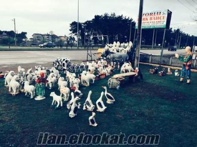 toptan alçı heykeller, toptan alçı hayvan figürleri, toptan bahçe süsleri, al