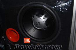 JBL 1800 W BAS KOLON VE AUTOMAX 2000W ANFİ