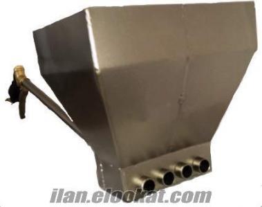 Sıva Püskürtme Küreği (Kendini bir günde amorti eden sıva makinesi)