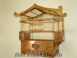 kanarya filorya ve saka ahşap kafesler