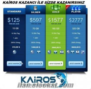 KAİROS İLE NET KAZAN AYLIK 1500 DOLAR