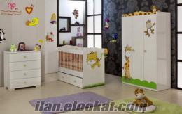 De Mobilya Kendi Sallanabilen Bebek Odası (High Gloss)
