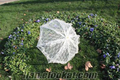 gelin şemsiyesi, gelinlik aksesuar şemsiye toptan ve perakende