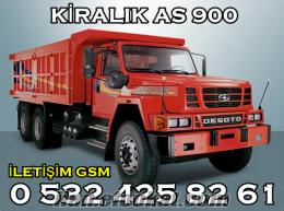 GEBZE KOCAELİ İSTANBUL KİRALIK KAMYON AS 900