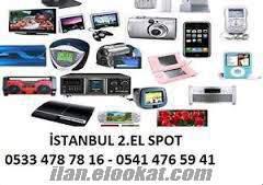 ÜMRANİYE 2.EL LAPTOP ALANLAR LCD-CEP TELEFON-FOTOĞRAF MAKİNESİ ALINIR SATILIR