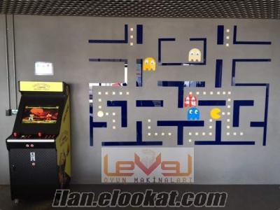 Üreticiden Orjinal kartlı Sistem Atari Makineleri