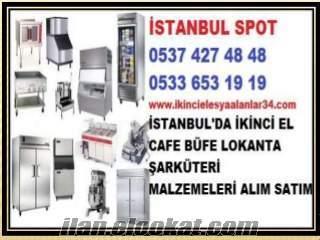 BEYKOZ İKİNCİ EL FASTFOOD CAFE LOKANTA MALZEMELERİ ALINIR SATILIR
