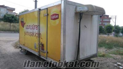 Çayırovada kamyonet kasası