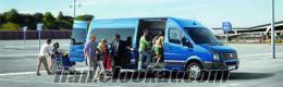 minibüs kiralama şöförlü servis araçları kirala tut