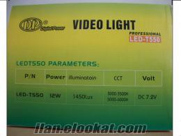 T550 Kamera Tepe Lambası