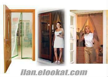 TOPTAN Mıknatıslı Kapı Tülü Sineklik Tül