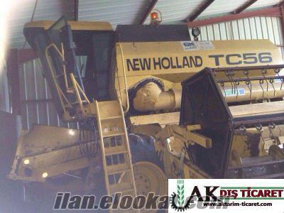 New Holland TC 56 2000 Model 2100 saat TEMİZ ve AZ KULLANILMIŞ AVRUPA KALTESİNDE
