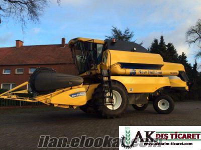 New Holland TC 5070 2009 Model 571 saat Peşin veya Vadeli