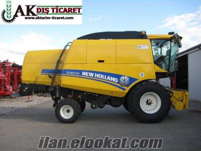 2.EL New Holland TC 5070 2014 Model yeni kasa 203 saat çalışmış 5.50 metre tabla