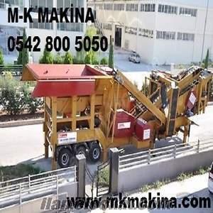 mobil Konkasör Tesisi M-K 15