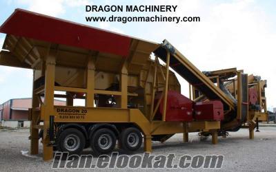 Dragon 20 Gelişmiş Turbo Darbeli Konkasör Sistemi