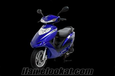 Mondial 125 nt turkuaz scooter motosiklet