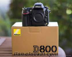 Nikon D800 36.3 MP DSLR makinesi - Vücut
