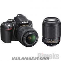 Nikon D3200 Profesyonel Fotoğraf Makinası İhtiyaçtan Satılık