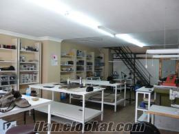 Devren kiralık atölye-imalathane Bayrampaşa Çizmeci İş merkezi