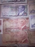 Bursada kagıt paralar