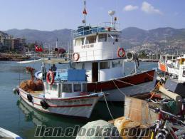 sahibinden satılık alanyada balıkçı teknesi