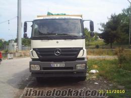 Samsundan 2528 Axor Mercedes damperli kamyon, kepçe ve ekskavatör kiralıktır