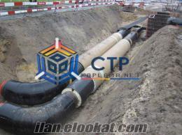 Ctp Boru Montaj - Ctp Boru Fitting CTP Tünel Kaplama