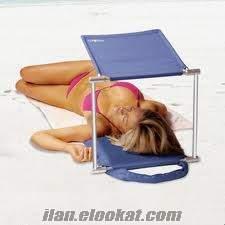 TOPTAN Plaj Gölgeliği Cush N shade, Güneşlenme Gölgelik