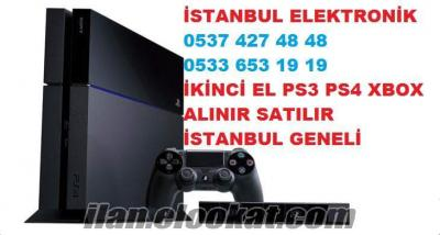 BÜYÜKÇEKMECE İKİNCİ EL PLAYSTATİON PS3 PS4 XBOX 360 ALANLAR ALAN YERLER