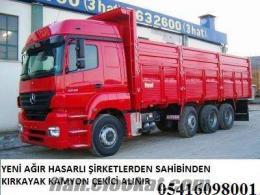 parçalanacak yeni kamyon kamyonet cekicileriniz alınır