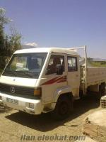acil satılık beyaz mb800 mercedes kamyon