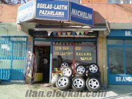acil satılık oto lastik dükkanı