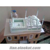 sultan ahmet cami maketi