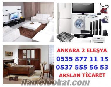 Ankara Demetevler 0 ve 2.el eşya alanlar ve satanlar