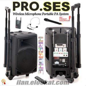Taşınabilir Ses Portatif Ses sistemleri Kablosuz anfi mikrofon hoparlör