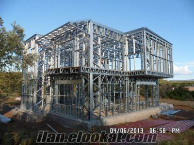zeta hafif çelik yapı