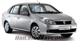İzmirde Ucuz Kiralık Araç Renault Symbol Yalnızca 55 TL
