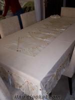 el işi deri masa örtüsü