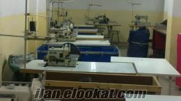 satılık tekstil atölyesi
