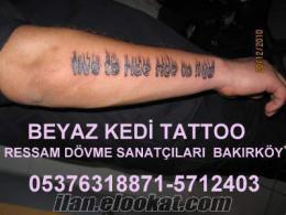 profösyonel dövme yapanlar