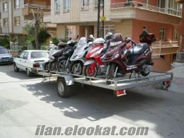 motosiklet cekme romork